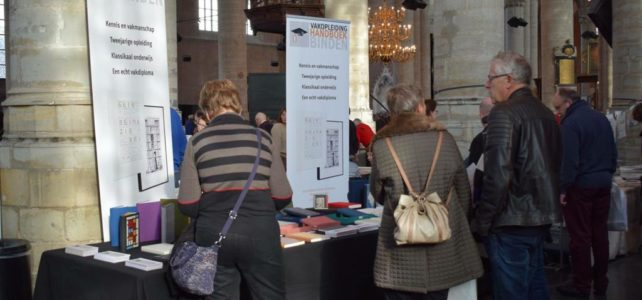 VOHB op de Boekkunstbeurs Leiden 2018